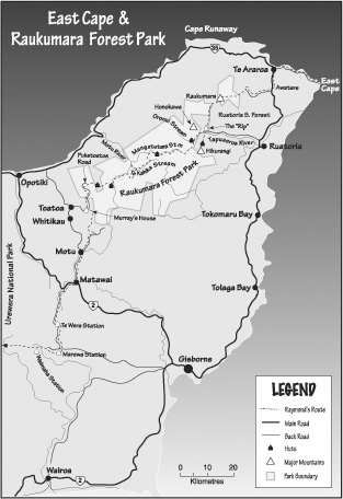 Map Series for Cape To Cape book