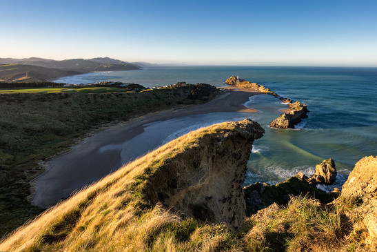 Panoramic view of Castlepoint, Wairarapa