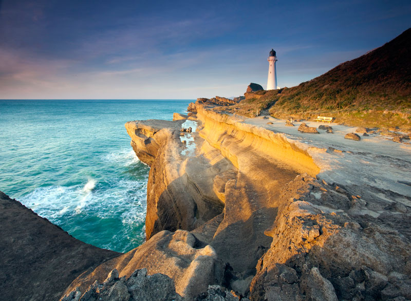 Castlepoint Lighthouse, NZ