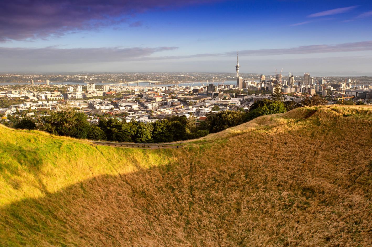 Maungawhau Summit, Auckland
