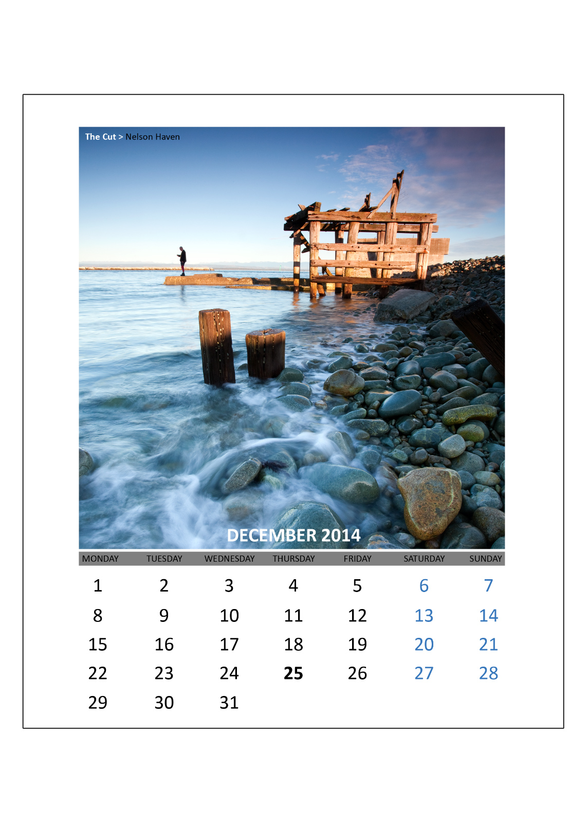 Calendar Design & Photography