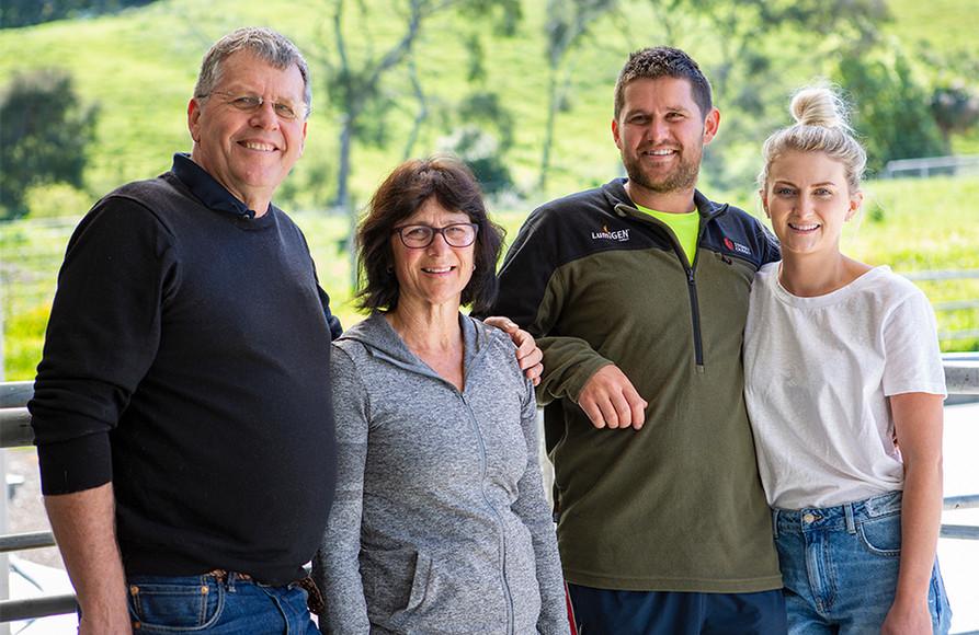 Raine family | Oaklands Milk