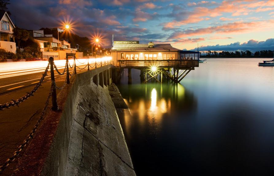 Boatshed Cafe, Nelson