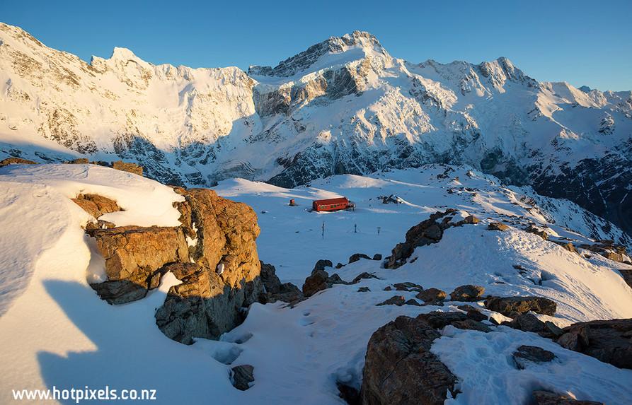Mt Sefton & Mueller Hut