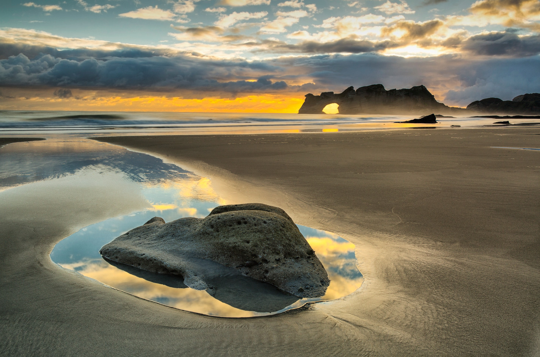 Archway Islands, Wharariki Beach, Golden Bay