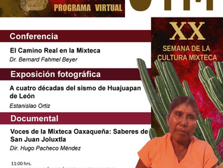 #XXSemanaDeLaCulturaMixtecaContinuamos con la presentación de nuestra #XXSemanaDeLaCulturaMixteca,