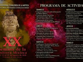 XX SEMANA DE LA CULTURA MIXTECA