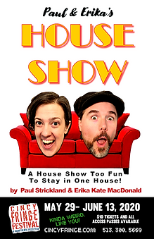 DIGITAL POSTER paul and erikas house sho