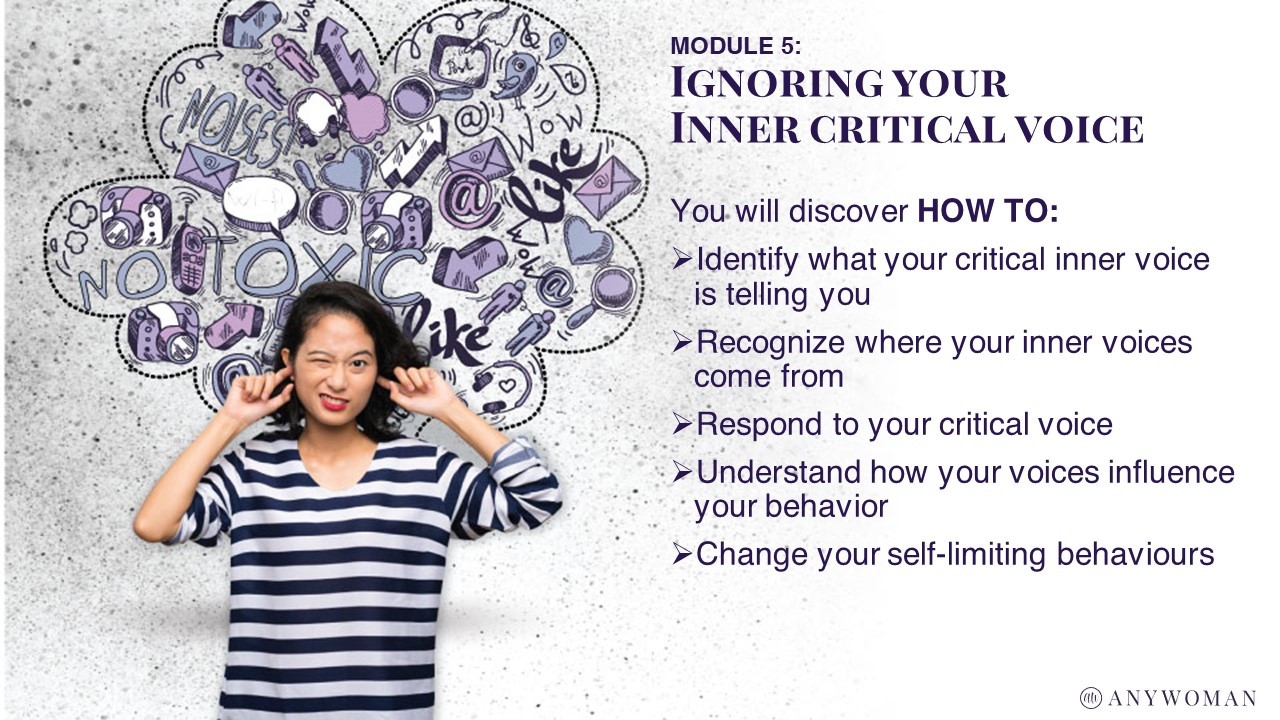 Module 5 - Ignoring your inner critical voice