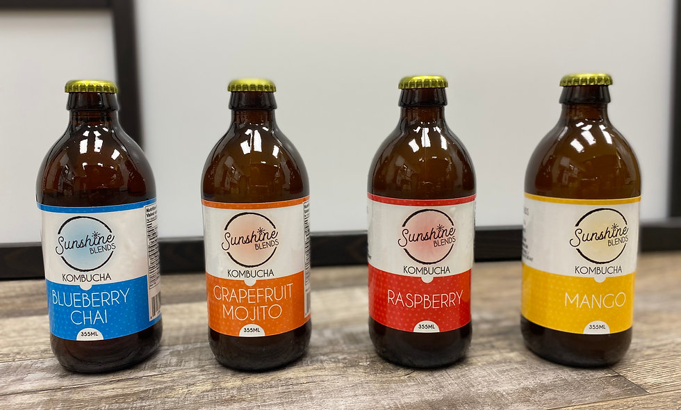 Kombucha- 355ml Bottle- 24 Pack