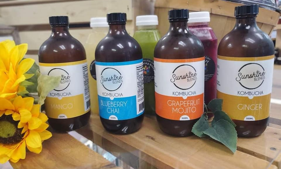Immunity Booster Combo- Cold Pressed Juice & Kombucha