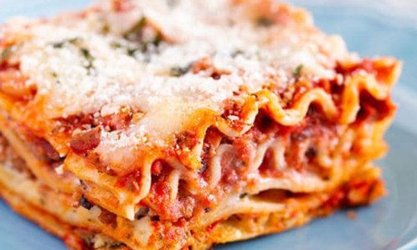 Beef Lasagna - 4 Servings