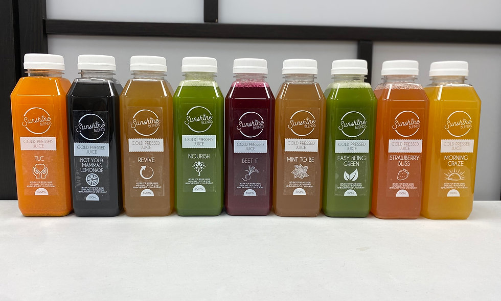 5 Day Juice Cleanse (30 Juice) includes GST