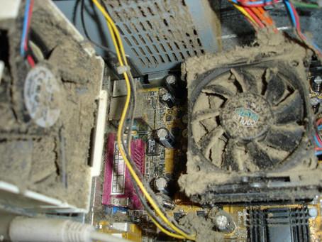 Manutenção: limpando o computador por dentro