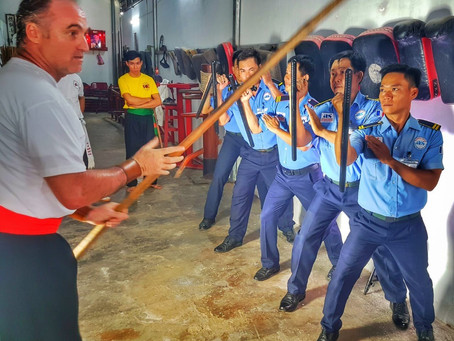 Training provided by Shaolin Hung Gar school
