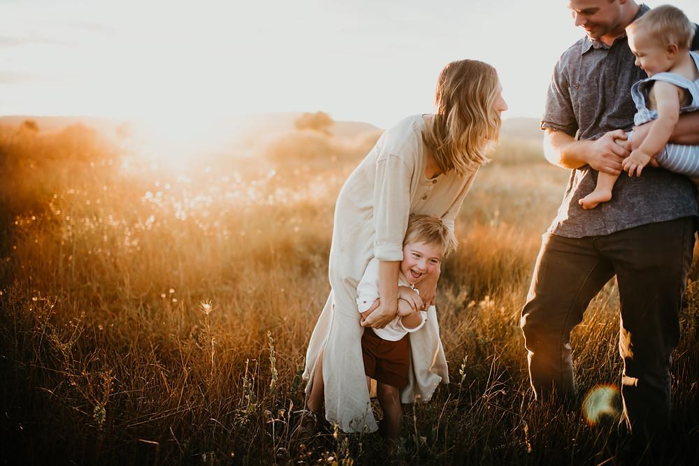 Family session Oregon