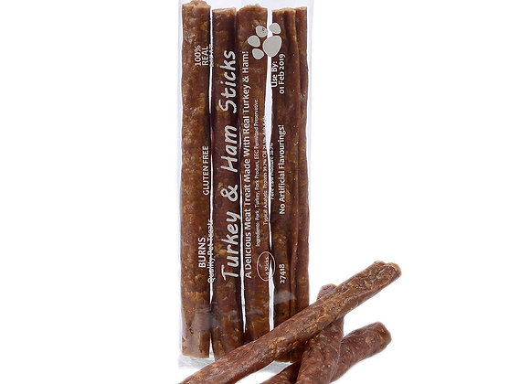Turkey and Ham Sticks (pack of 4)