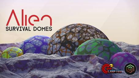 Alien Survival Domes Map