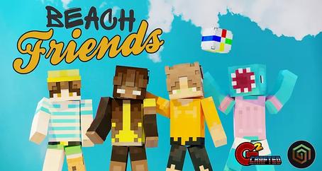 Beach Friends Skin Pack