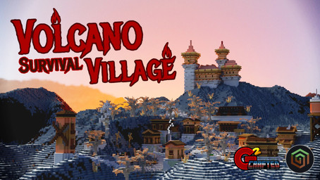 Volcano Survival Village