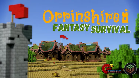 Orrinshire Fantasy Survival Map