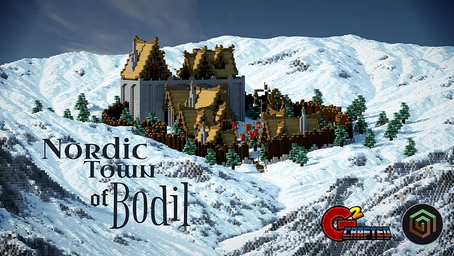 Nordic Town of Bodil Map
