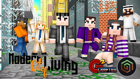 Modern City Living Skin Pack