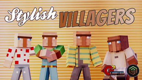 Stylish Villagers Skin Pack