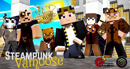 Steampunk Vamoose Skin Pack