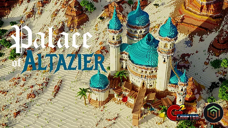 Palace of Altazier Map