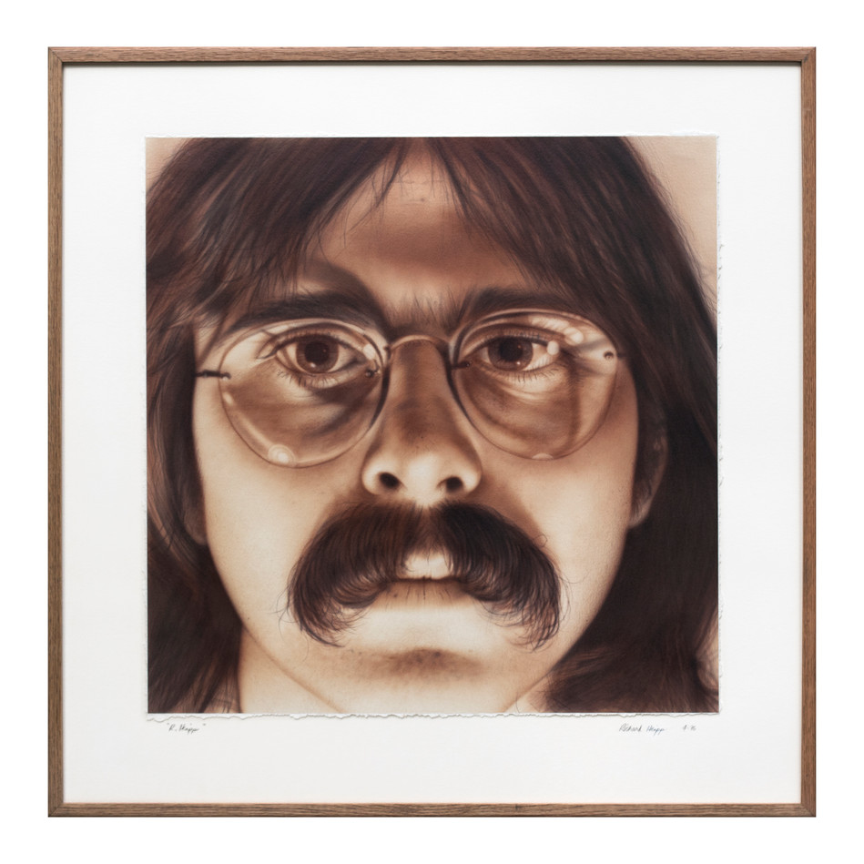 Self Portrait - R. Heipp 1974,