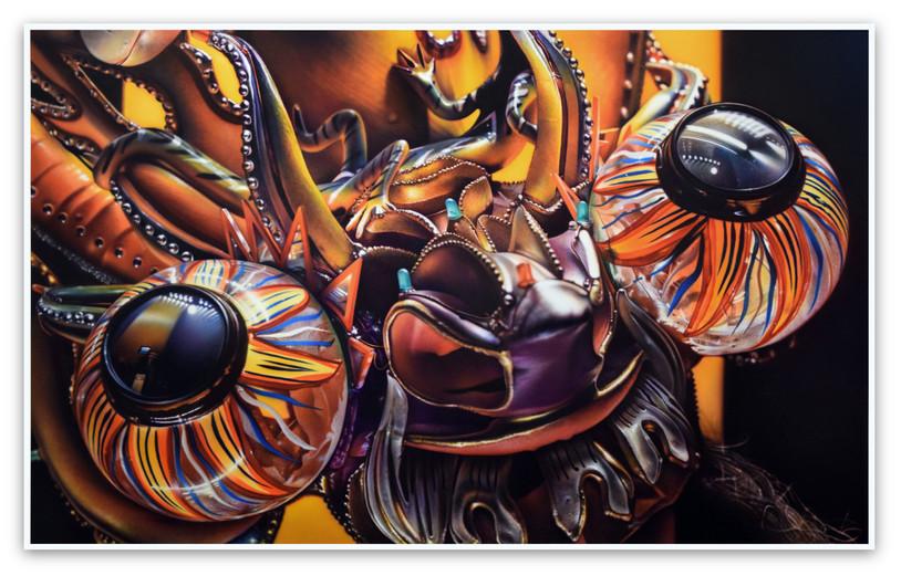 Culture Mask / Devil: Carnival Truupe Diable, 1999  (Quai Branly), 2016