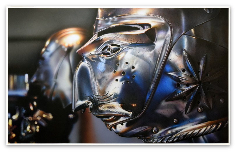 Culture Mask / Warrior: Armor (Les Invalides), 2015