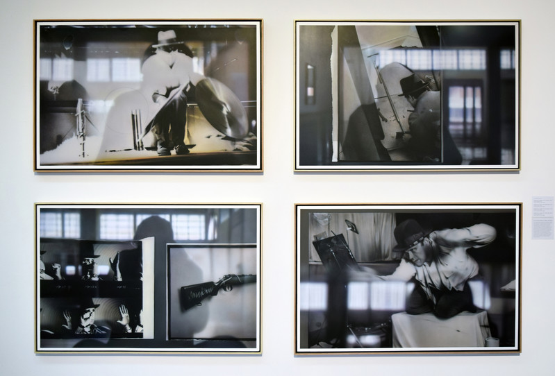 """From the """"Reflection on Beuys Series, Arena"""" at the Polk Museum of Art, """"Double Vision"""" exhibition 2018"""