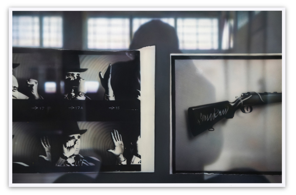 Reflection on Beuys #5: Arena, With Rifle, (DIA) 2017