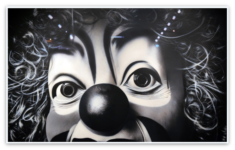 Sans titre Clown - After Belin (Pompodou), 2015