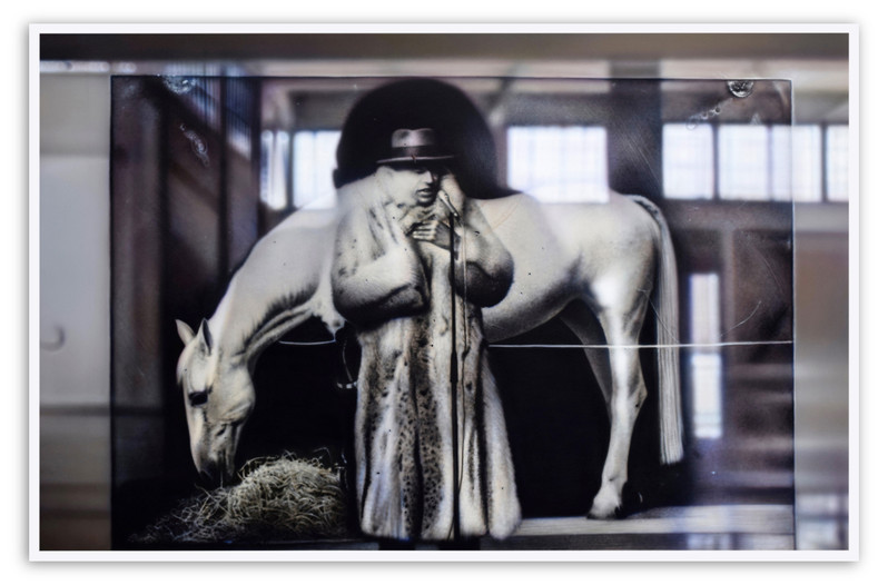 Reflection on Beuys #1: Arena, With Horse, (DIA) 2016