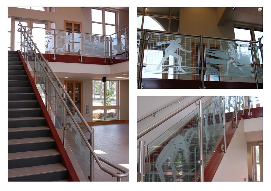 FSU Human Performance and Track Building Lobby, 2008