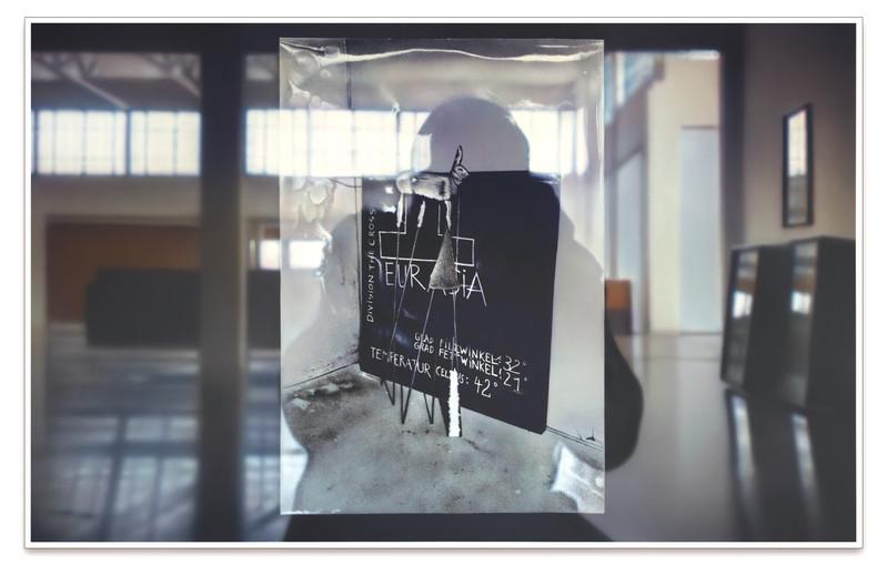 Reflections on Beuys #10: Arena - Rabbit w/ Felt Angle, (DIA) 2019