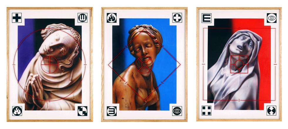 Blind Faith Series / Saints: # 1 - #2 - #3,  2002