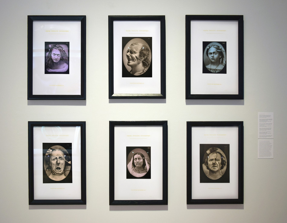 """From the """"Electro-Physiologie Series"""" at the Polk Musueum of Art, """"Double Vision"""" exhibition 2018"""