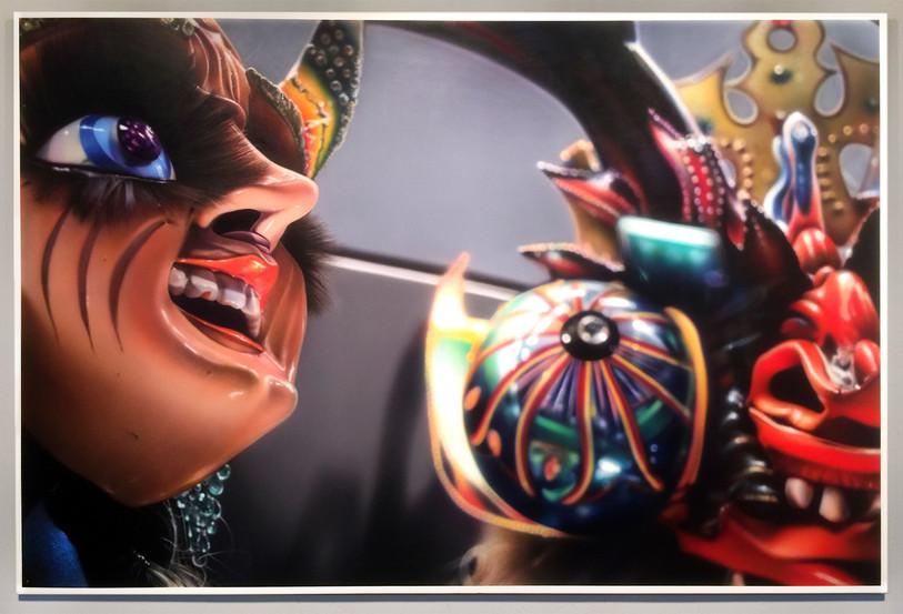 Diablada Dance (She + He Devils),  Quai Branly, Paris, 2020