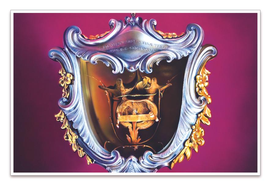 #4 - Reliquiario - Ex Vertebrais S. Finae  (Virgin's Vertebrae, Medici, 1680), 2020