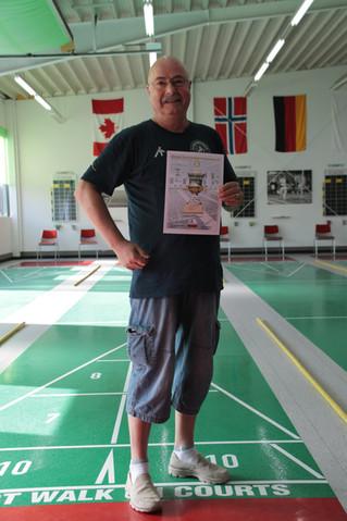 Gute Platzierungen bei den Deutschen Shuffleboard Meisterschaften