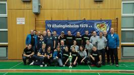 Shuffleboard Trophy, Deutsche Mannschaftsmeisterschaft beim TVR