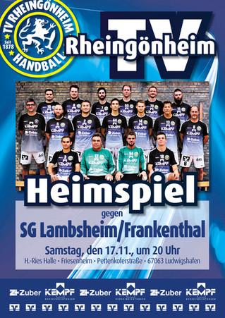 Vorbericht 9. Spieltag: TVR - SG Lambsheim-Frankenthal