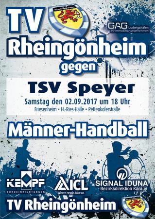 Vorbericht 1. Spieltag: TVR-TSV Speyer