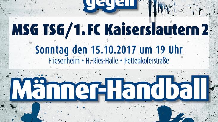 Vorschau: 5. Spieltag gegen den MSG/TSG/FC Kaiserslautern 2
