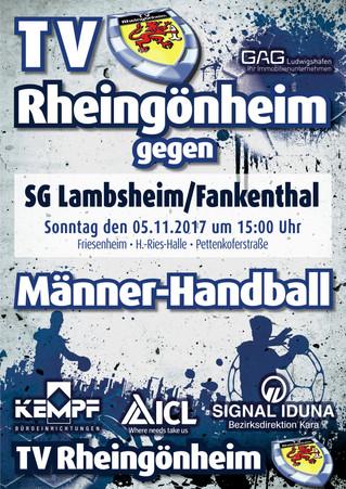 Vorbericht: 8. Spieltag TVR gegen SG Lambsheim-Frankenthal