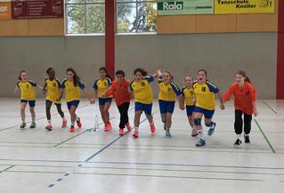 wD-Jugend gewinnt 17:27 in Friesenheim!